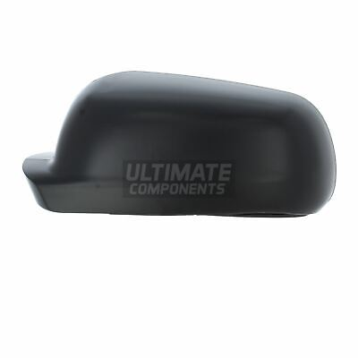 Seat Leon MK1 2000-2003 Black Door Wing Mirror Cover O//S Drivers Right