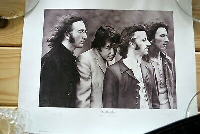 The Beatles By Martin Fitzpatrick - Signed - Numbered