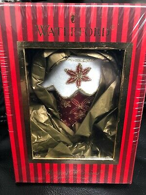 Waterford Holiday Heirlooms Christmas Stocking 4th Edition New In Box
