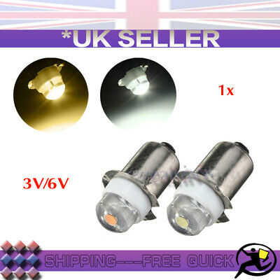 1x//10x P13.5S PR2 LED Flash light Replacement Emergency Interior Torch Work Bulb