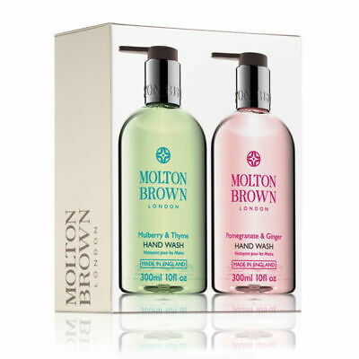 Molton Brown Pomegranate & Ginger And Mulberry & Thyme Hand Wash Duo