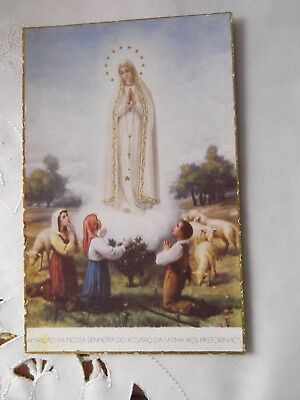 Rosario DA FATIMA Postcards 2 Postcards one POSTED IN FATIMA PORTUGAL in 1953