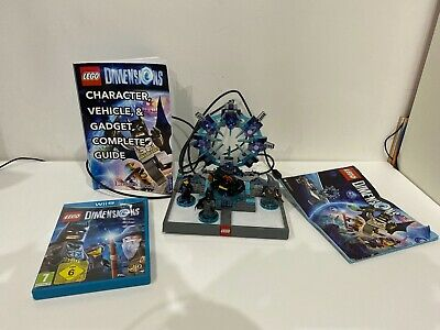 lego dimensions wii u starter pack with guide (Used, no box.)
