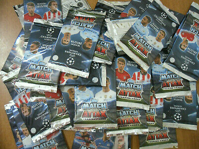 Lotto Figurine  N.500 Bustine Topps Match Attax Champions League 2015/2016 Nuove
