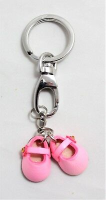 Keyring Leather 3D Shoes Shoes Kids Pendant Leather Handmade