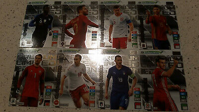 Set 8 Premium Limited Edition Road To Euro 2020 Adrenalyn Xl Panini Rare New