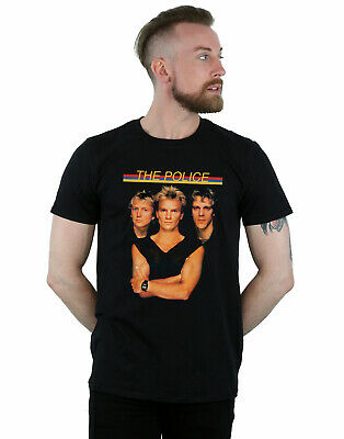 The Police Hombre Band Photo Camiseta