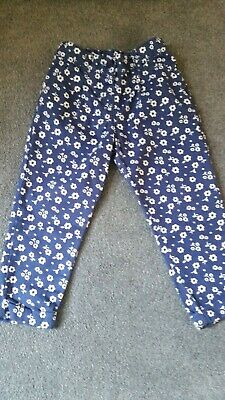 BNWT  GIRLS -  ADJUSTABLE WAIST  - TROUSERS / PANTS  AGE 2-3 yrs