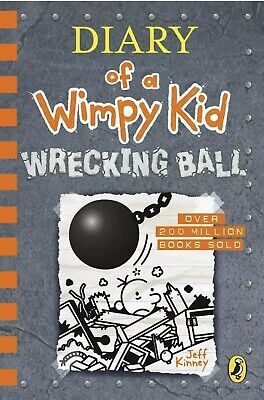 Diary of a Wimpy Kid: Wrecking Ball *Book 14 *Brand New *Fast & Free Delivery