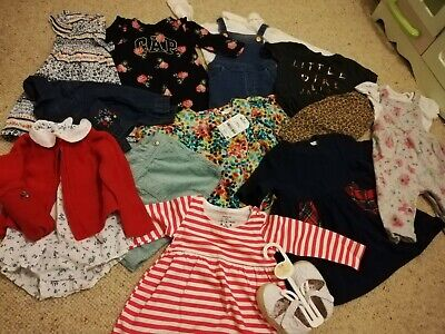 3-6 baby girls outfit bundle, gorgeous, next, mothercare, h&m. Romper, dresses