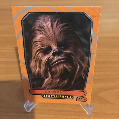 Star Wars Galactic Files Series 2 CHEWBACCA # 443