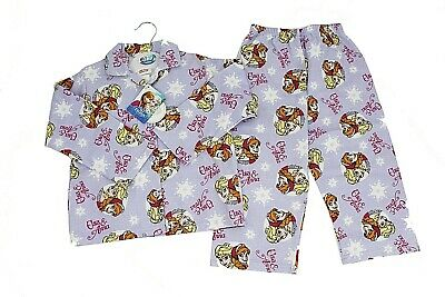 Girls Baby Frozen Disney Anna Elsa Pyjamas PJs Size Age 12-18mths  2-3 years