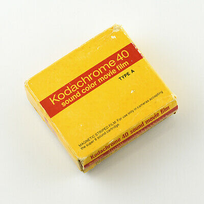 Kodak Kodachrome 40 Sound Type A Super 8 Cartridge