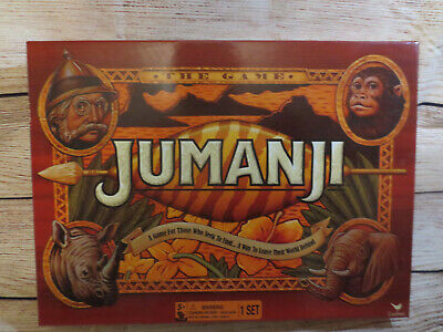 Jumanji Board Game Complete