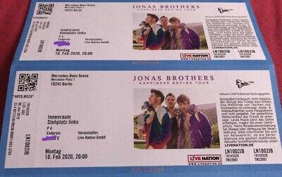 Jonas Brothers HAPPINESS BEGINS TOUR Berlin am 10.02.2020 (Ausverkauft)