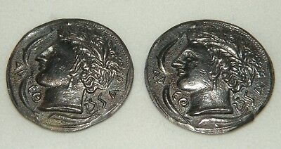 VTG 2 Sterling Alexander the Great coins Replica Faux