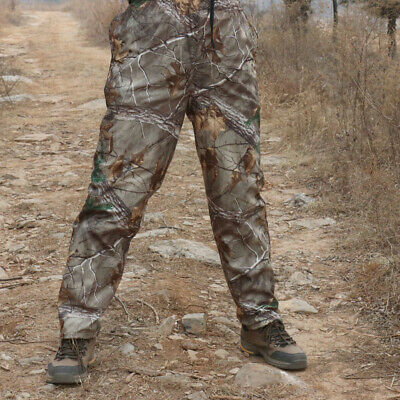 Thin Tactical Military Trousers Bionic Camouflage Pants Fishing Jungle Hunting