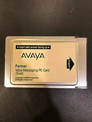 AVAYA Partner Voice Messaging PC Card Large CWD3B 700226517