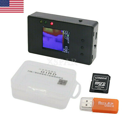 "AMG8833 8x8 Infrared Thermal Imager Sensor Module w/ 4G TF Card 1.6"" Screen US*"
