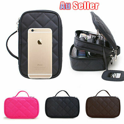 Women Pouch Case Toiletry Holder Washing travel Cosmetic Make-up Bag Beauty