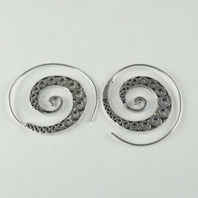 Antique Designer 925 sterling silver Plated Ethnic jewellery Earring ER1104