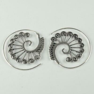 Antique Designer 925 sterling silver Plated Ethnic jewellery Earring ER1107