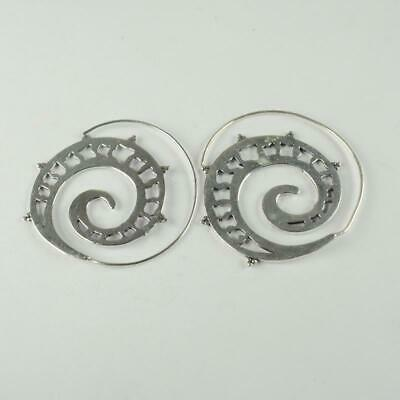 Antique Designer 925 sterling silver Plated Ethnic jewellery Earring ER1105