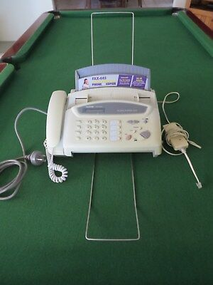 Brother Fax - 645 Fax/Phone  And Copier Machine
