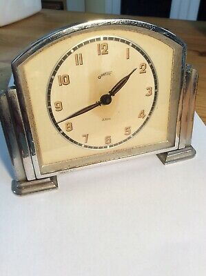 Comet 8 Day Art Deco Mantle Clock