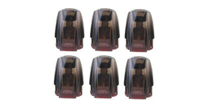 Authentic JUSTFOG MINIFIT Replacement Ceramic Pod Cartridge (6-Pack)