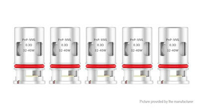 Authentic VOOPOO VINCI Replacement PnP-VM1 Coil Head (5-Pack)