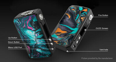Authentic VOOPOO DRAG 2 Platinum 177W TC VW APV Mod Platinum-Fire Cloud