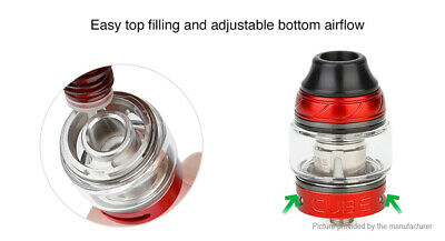 Authentic OBS Cube Sub Ohm Tank Clearomizer (Standard Edition) Red