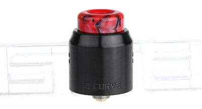 Authentic Wotofo Recurve Dual RDA Rebuildable Dripping Atomizer Black