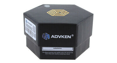 Authentic ADVKEN Artha V2 RDA Rebuildable Dripping Atomizer Gunmetal