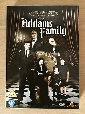 THE ADDAMS FAMILY: VOLUME 1 / ONE. 3 DISCS. Very Good Condition,Played Once.