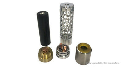 Vindicator Hollow Styled Mechanical Mod Kit Black