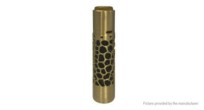 Vindicator Hollow Styled Mechanical Mod Kit Brass Tone