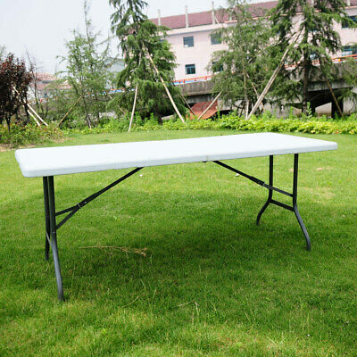 Folding Table Portable Plastic Indoor Outdoor Picnic Party Dining Camping Tables