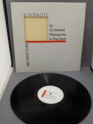 Vinyl LP, Orchestral Manoeuvres In The Dark (OMD), Architecture and Morality