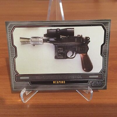 Star Wars Galactic Files Series 2 DL-44 BLASTER PISTOL # 630