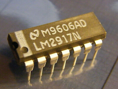 2x LM2917N Frequency to Voltage Converter, National Semiconductor