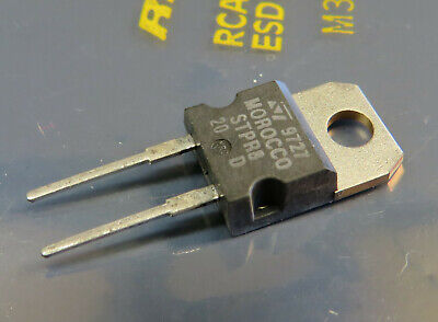 5x STPR820D fast recovery diode 200V 8A, ST Microelectronics