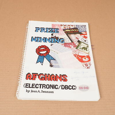 Electronic Knitting Machine Pattern Book Brother 940+ Disk Prize Winning Afghans