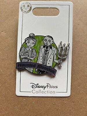 Disney Parks  Haunted Mansion Ghost Hosts Pin NEW 2019