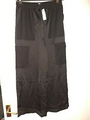River island black girls trousers age 12 bnwt