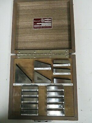 Starrett Webber - model AG16LM -  Master Steel Angle Gage Block Set 16 Pcs  NP5