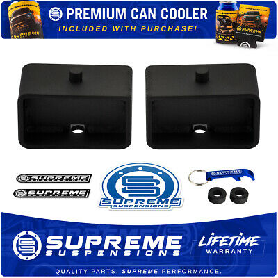 """3 Inch Rear Lift For Vehicles with 9/16"""" Axle Pin Holes HD Steel Tapered Blocks"""