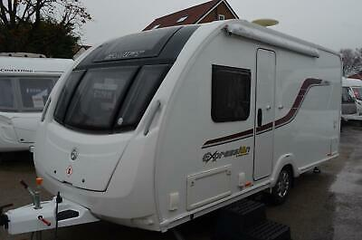 2016 Swift Expression 484 - 4 Berth - Fixed Bed - Touring Caravan