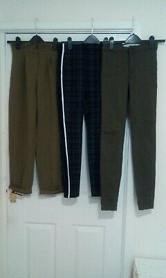 3 Pair Of girls /  Ladies Trousers / Jeans Size 6